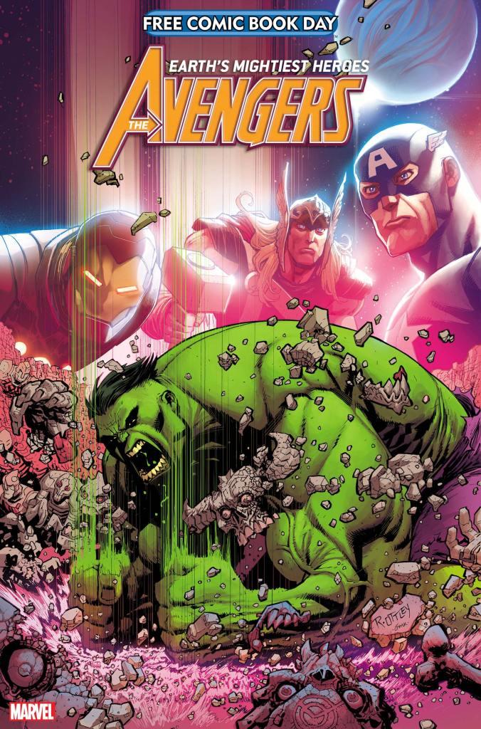 FCBD AvengersHulk Cover