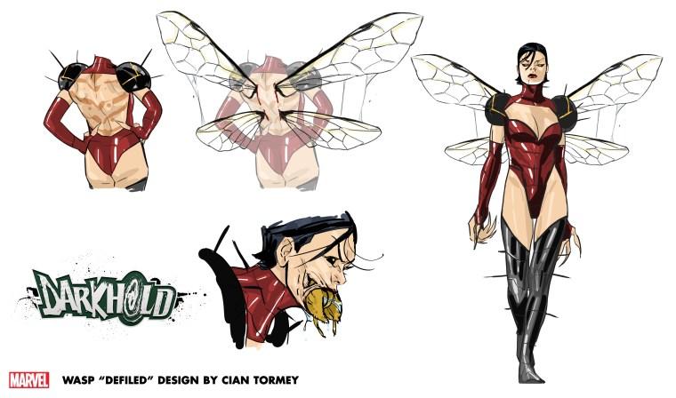 Wasp Defiled Design