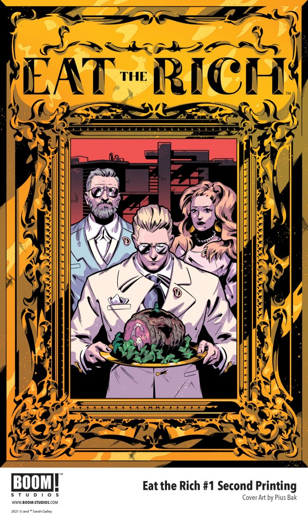 EAT THE RICH #1 Sells Out & Returns for a Second Printing