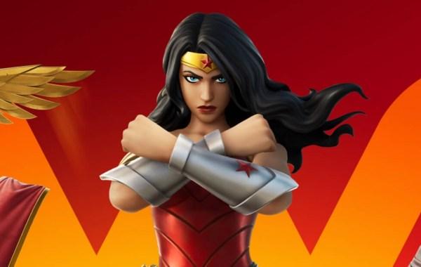 Wonder Woman Joins Fortnite