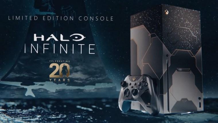 Halo 20th Anniversary Xbox Series X Console Announced