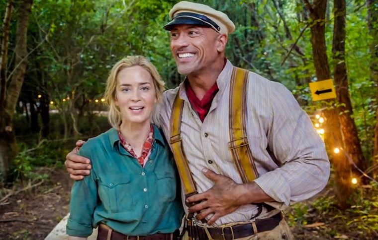 Emily Blunt and Dwayne Johnson Teaming Back Up for New Film Project