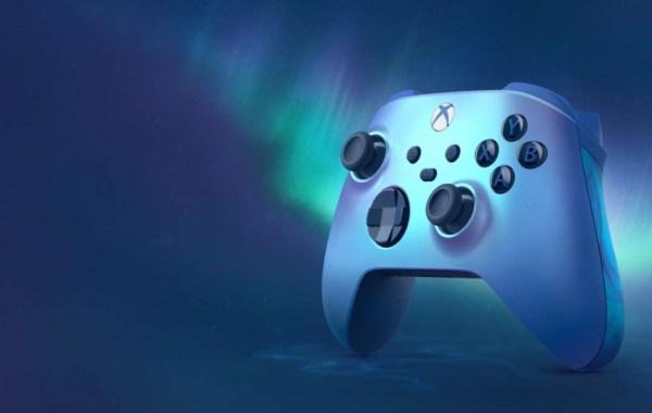New Xbox Series X Wireless Aqua Shift Special Edition Design Controller
