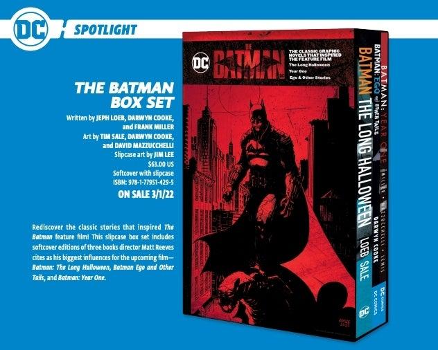 the batman box set comicbookcom 1279140