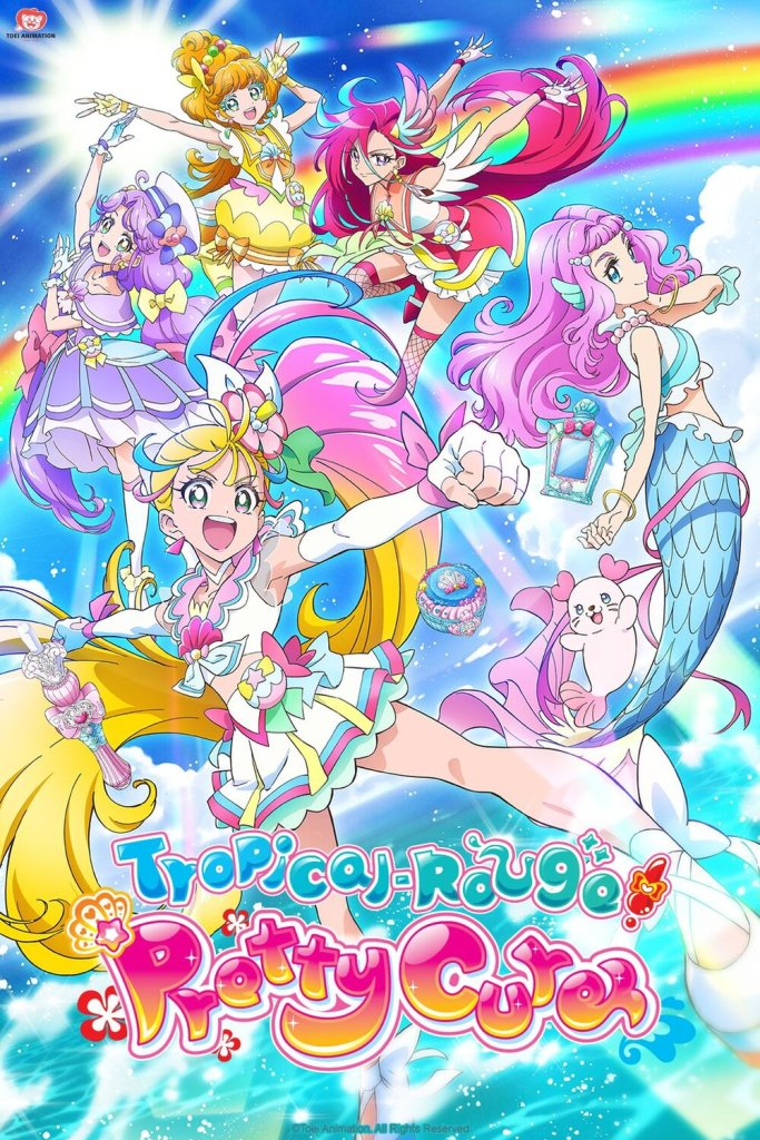 Crunchyroll Unveils Their 2021 Fall Line-Up, Tropical-Rouge! Pretty Cure