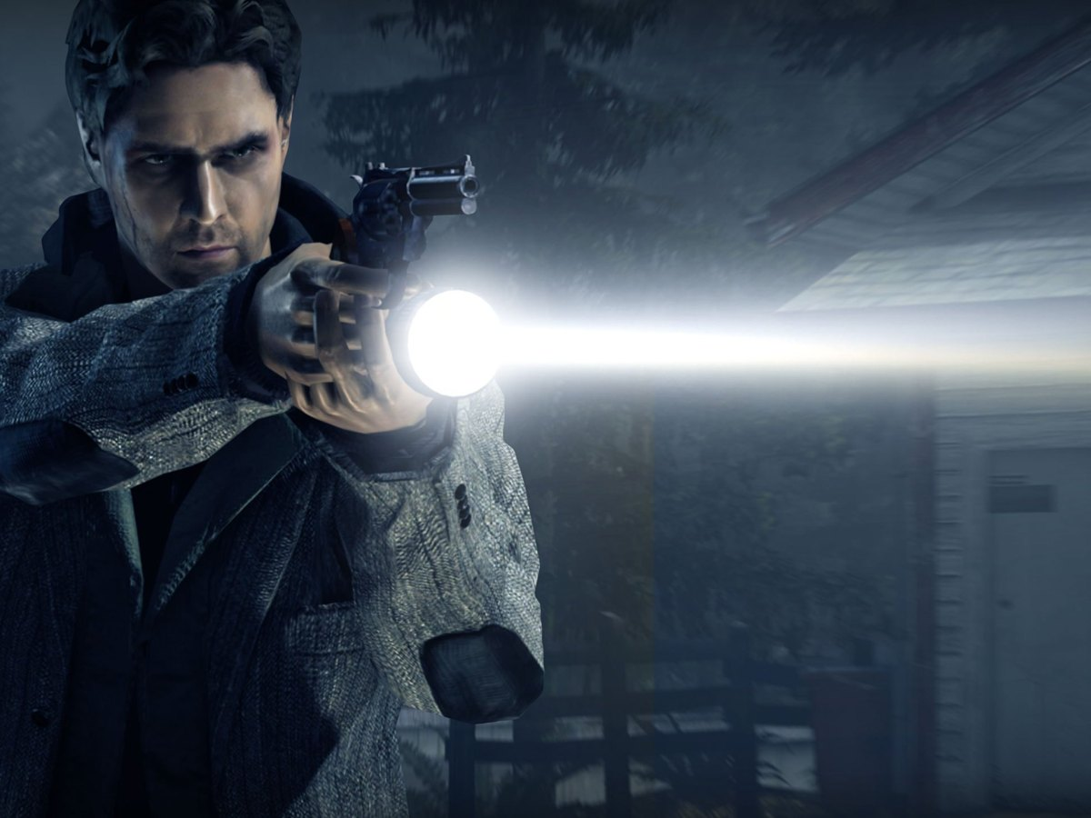 First Look At Footage Of Alan Wake Remastered