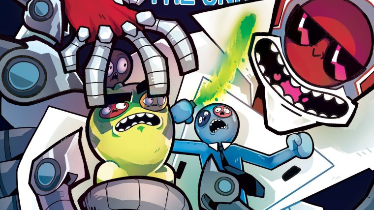 THE SECRET ORIGIN OF DR. KILL IN TROVER SAVES THE UNIVERSE #3 FIRST LOOK