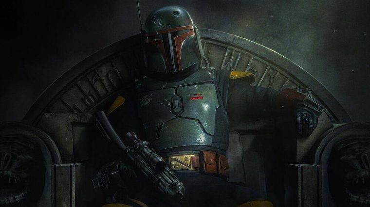 Poster For STAR WARS THE BOOK OF BOBA FETT Reveals Premiere Date