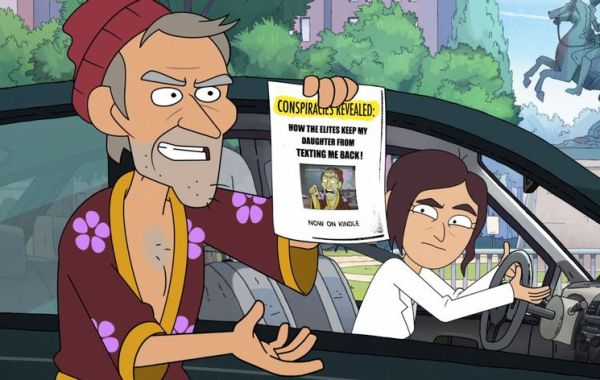 Netflix Drops Trailer For Conspiracy Theory Animated Comedy Series INSIDE JOB