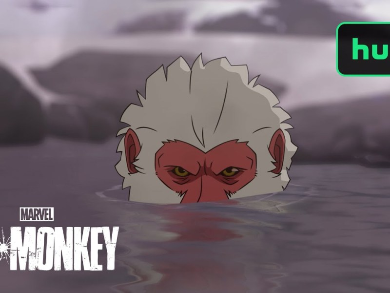Trailer For The Marvel Animated Series HIT-MONKEY