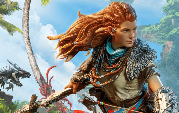 DARK HORSE DIRECT EXPLORES THE FORBIDDEN WEST WITH A NEW ALOY STATUE