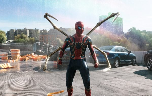 New SPIDER-MAN NO WAY HOME Photos Show Spidey On The Run From Dock Ock
