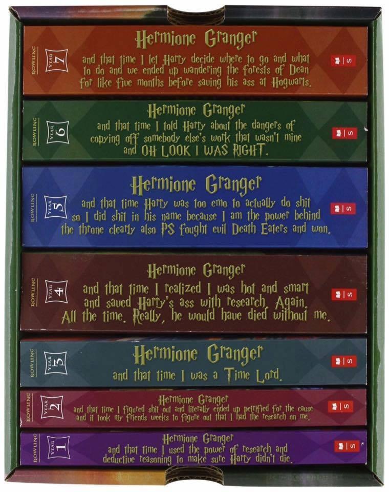 Hermione books
