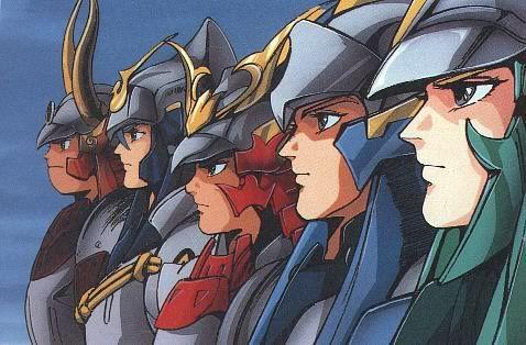 Remember Ronin Warriors