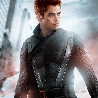 Chris Pine è Black Widow