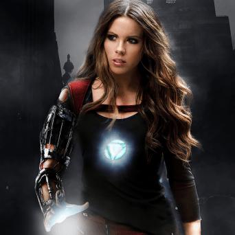 Kate Beckinsale è Iron Man