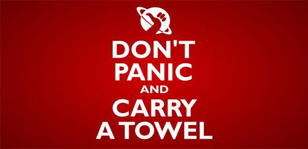 10 asciugamani da geek per festeggiare il Towel Day