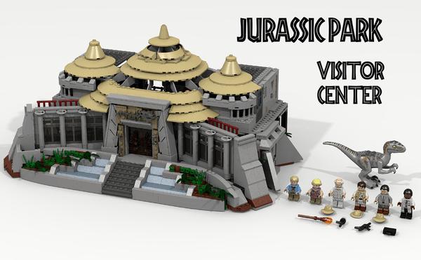 Lego Ideas: Jurassic Park Visitor Center