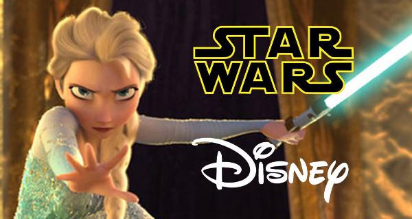 Star Wars incontra Frozen: Let it flow