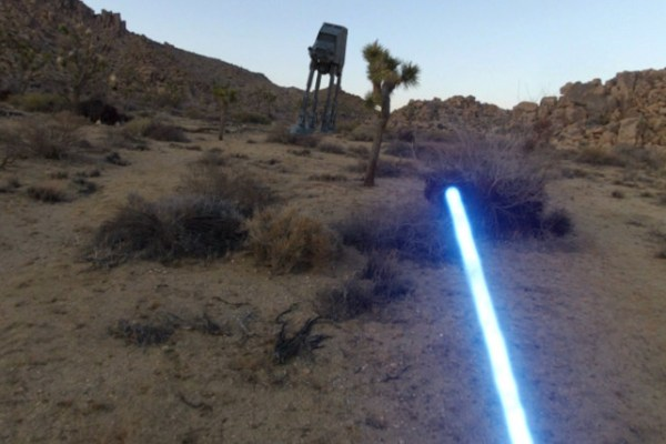 Il corto: Jedi With a GoPro