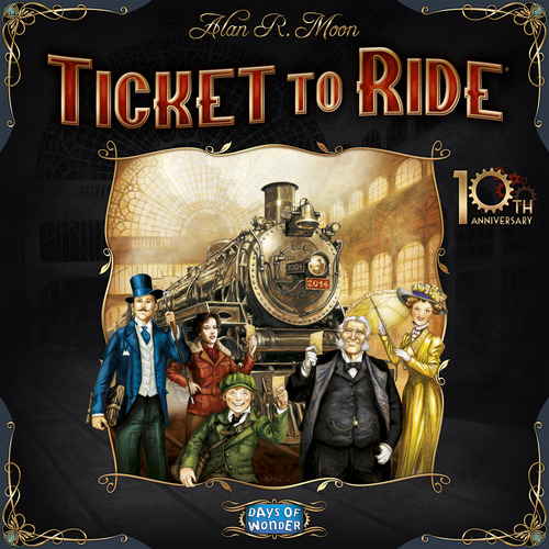 Ticket To Ride 10th Anniversary