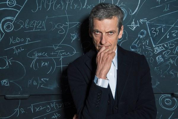 Peter Capaldi disegna la sua esperienza con Doctor Who