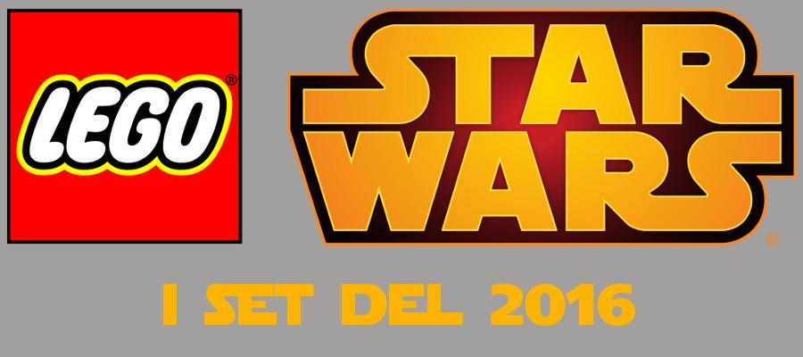 Lego Star Wars: svelati nuovi set in arrivo per Il risveglio della Forza