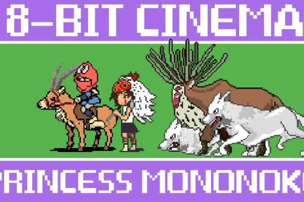La principessa Mononoke a 8 bit