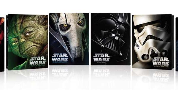 Star Wars: nuovi Blu-ray Disc con custodia in metallo
