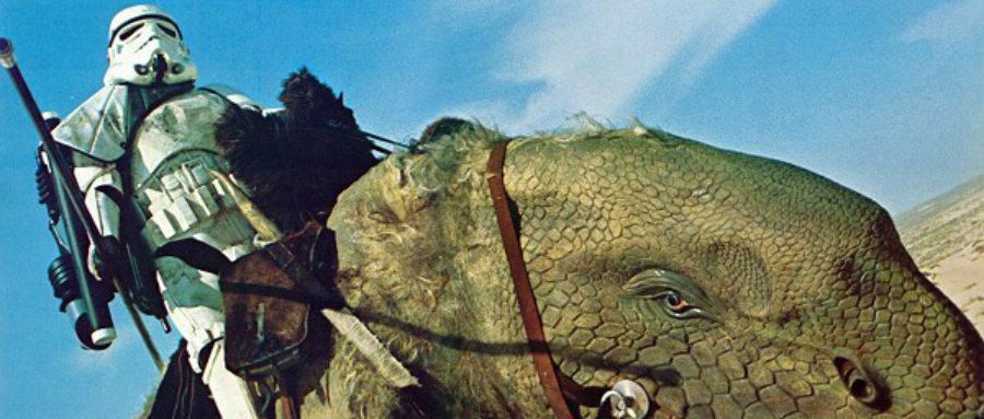 National Geographic Star Wars: I Dewback