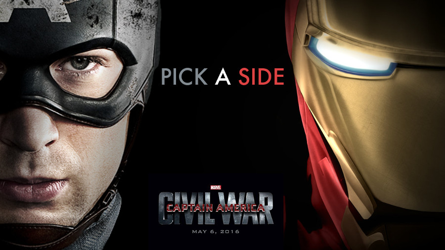 Captain America: Civil War, un'idea di titoli di testa