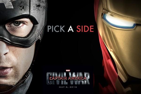 Captain America: Civil War, un'idea di titoli di testa