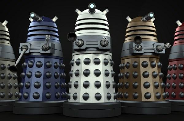 Doctor Who: Un dalek che esplode al rallentatore