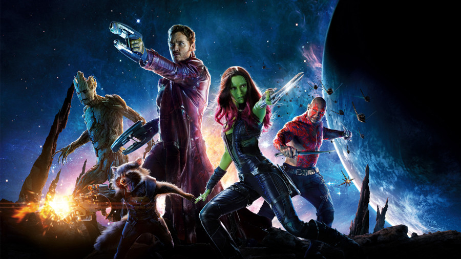 Guardians of the Galaxy sarà il primo film girato in 8k