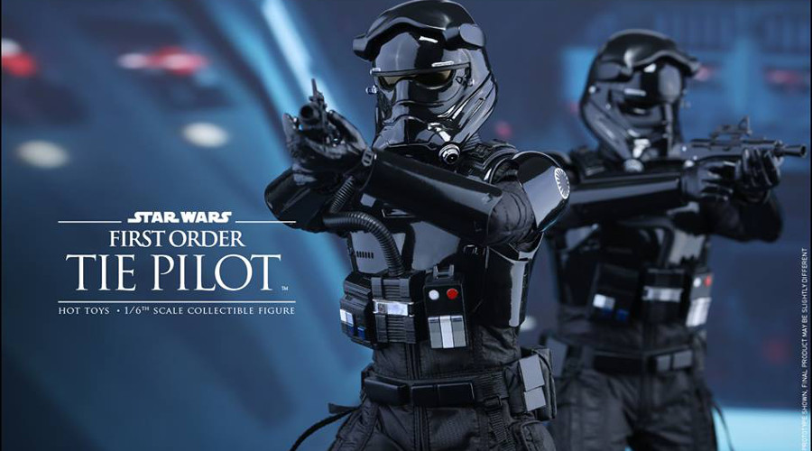 Star Wars: Hot Toys presenta i piloti di TIE de Il risveglio della Forza in scala 1:6