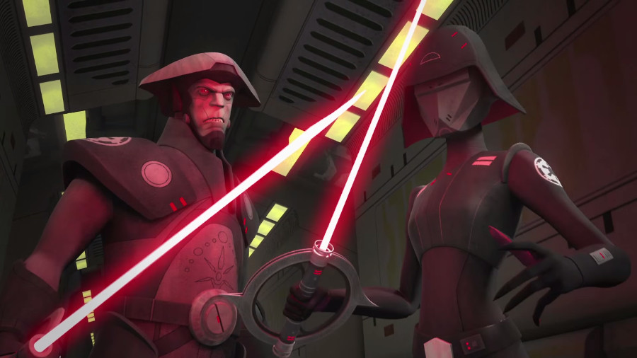 Star Wars Rebels Inquisitors Fifth Brother Seventh Sister