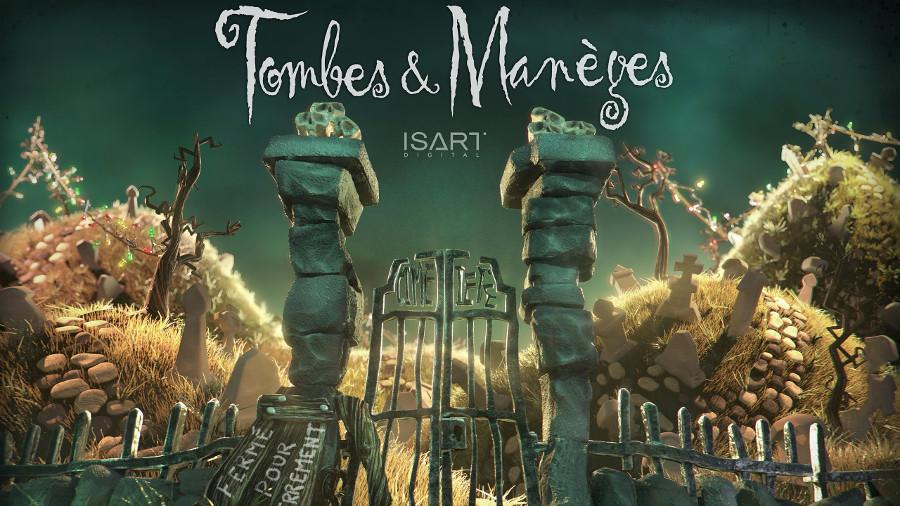 Il corto: Tombes & manèges