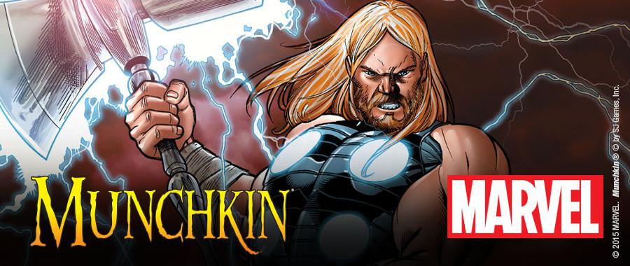 Arriva Munchkin Marvel Edition