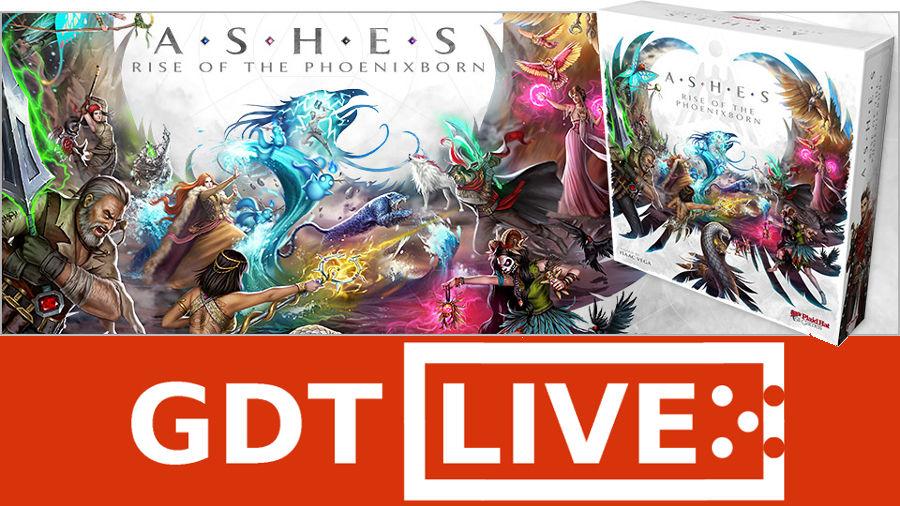 GDT Live – Ashes: la rinascita dei Phoenixborn