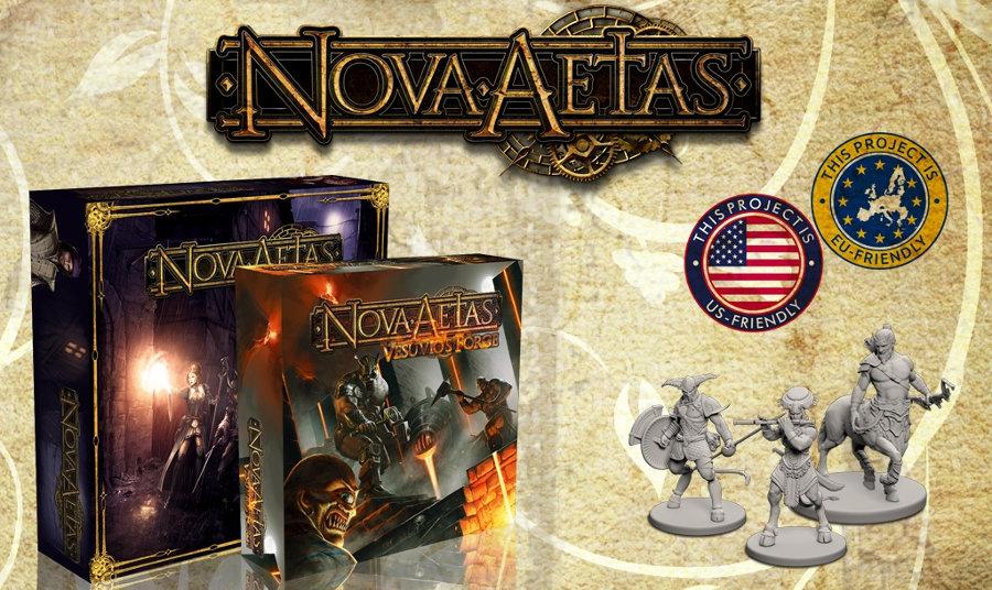 Nova Aetas: storia di un Kickstarter di successo e miniature