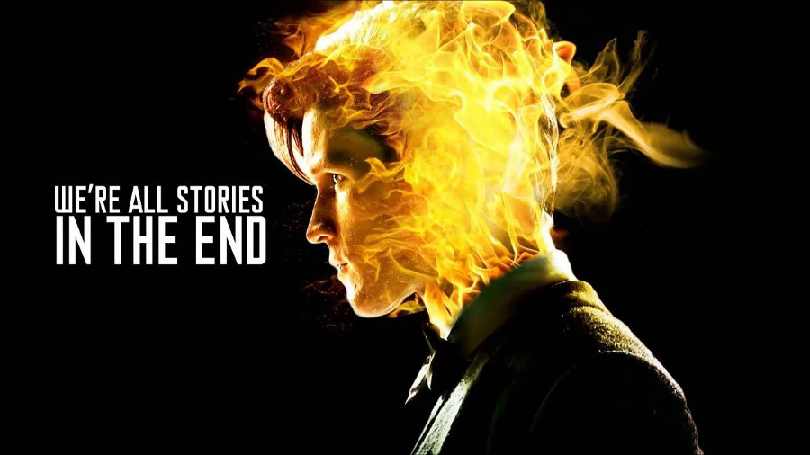 Doctor Who: un ipnotico video in stop motion, we're all stories in the end