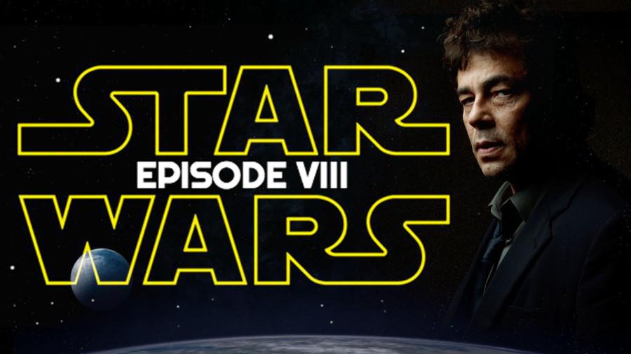 Star Wars: Benicio del Toro parla di Episodio VIII
