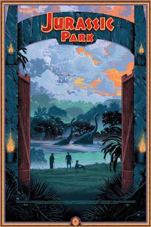 Jurassic Park poster 010
