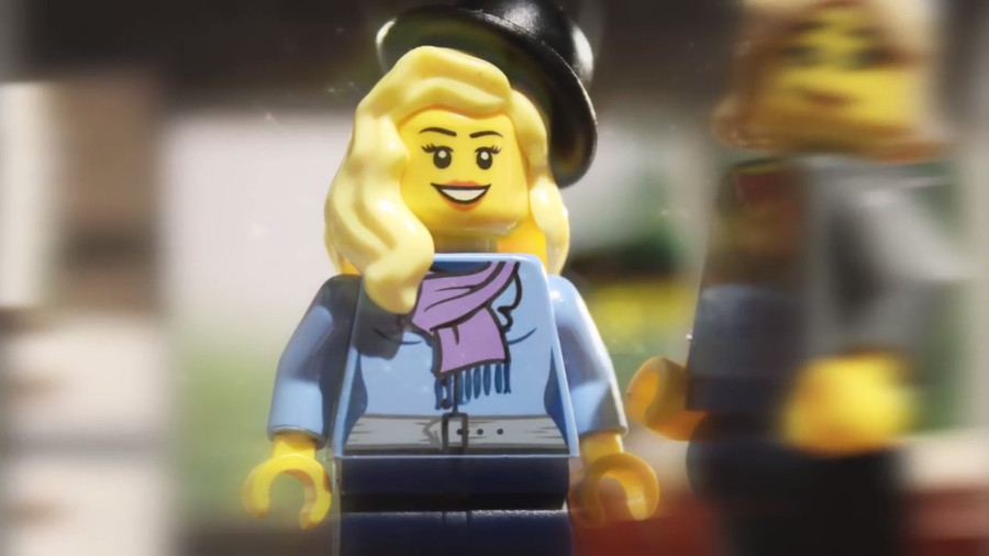 My love story, una storia d'amore tutta di Lego