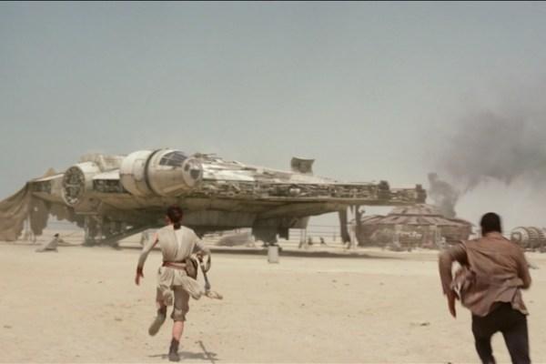 Star Wars: tutto ciò che è stato premuto sul Millennium Falcon