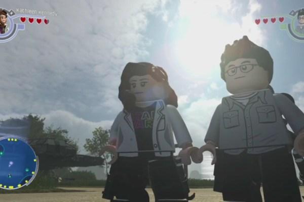 Star Wars J.J. Abrams e Kathleen Kennedy… di Lego!