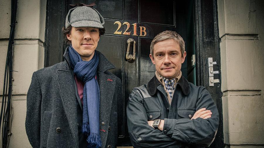 Sherlock: l'arte della simmetria