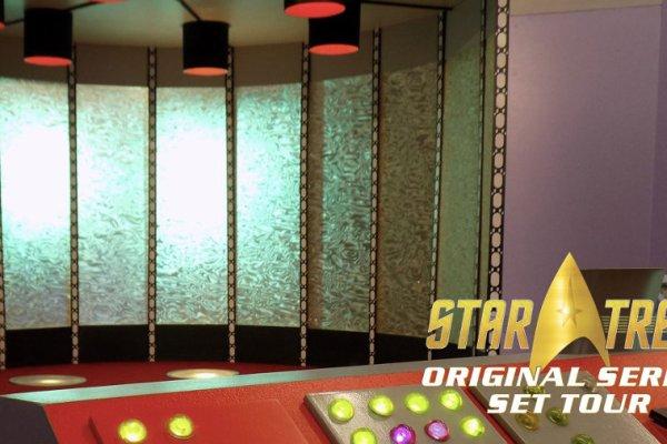 Star Trek: i set di New Voyages diventano una mostra ufficiale permanente
