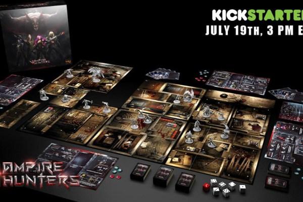 Lo spacciagiochi: Vampire Hunters su Kickstarter