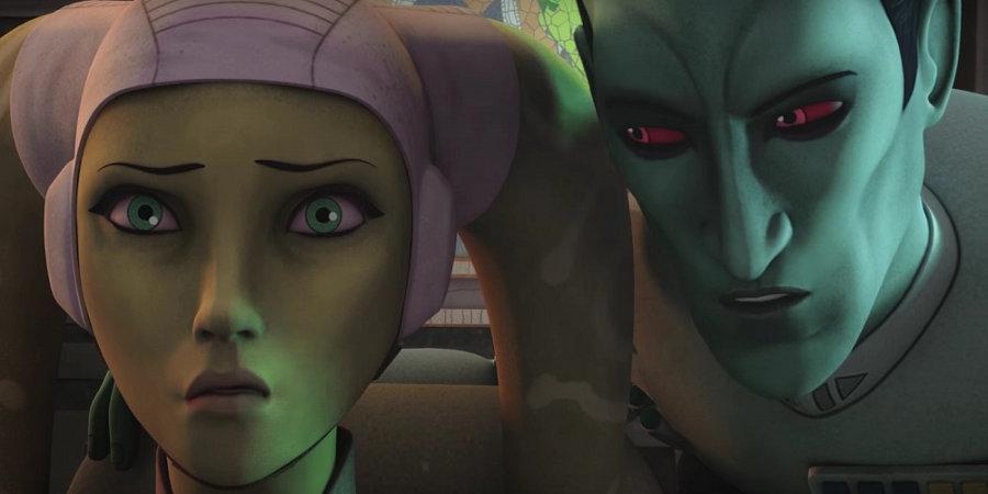 Thrawn incontra Hera nel nuovo promo di Star Wars Rebels